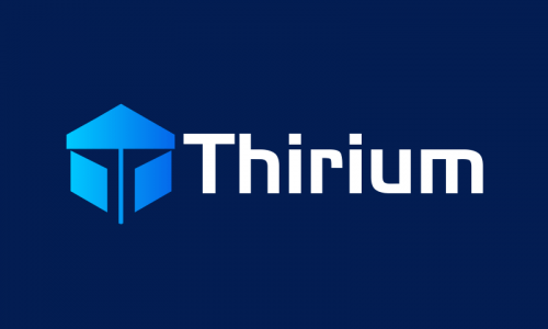 Thirium - E-commerce startup name for sale