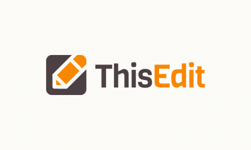 Thisedit - Writing domain name for sale