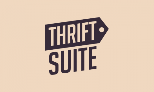 Thriftsuite - Retail company name for sale