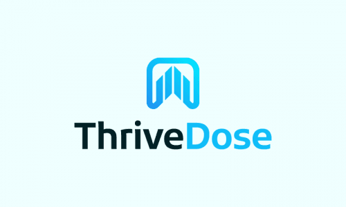 Thrivedose - Consulting brand name for sale