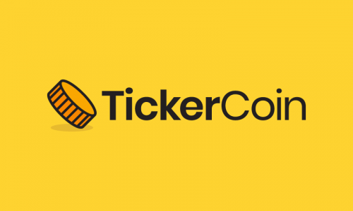 Tickercoin - Finance company name for sale