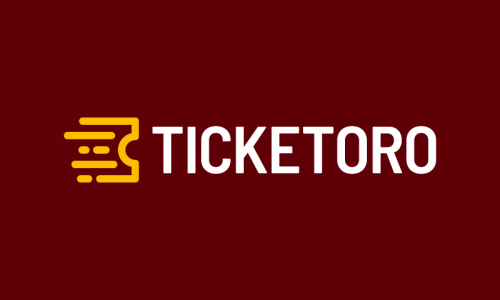Ticketoro - Ticketing domain name for sale