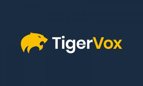 Tigervox - Business startup name for sale