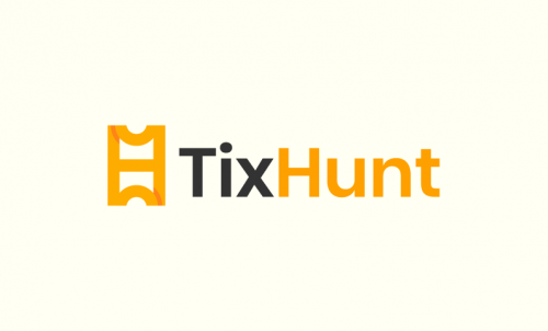 Tixhunt - Ticketing brand name for sale