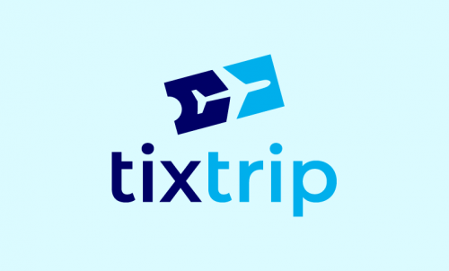 Tixtrip - Travel startup name for sale