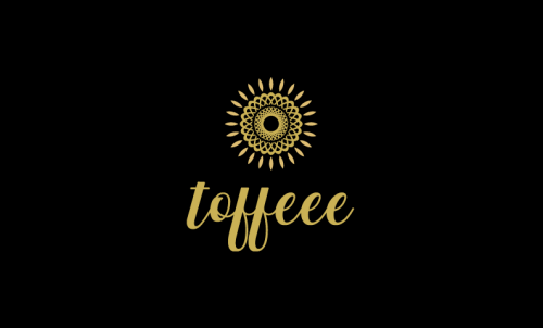 Toffeee - Food and drink startup name for sale