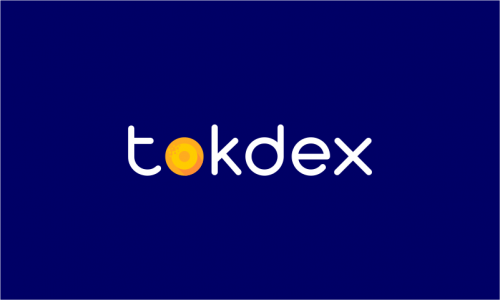 Tokdex - Cryptocurrency startup name for sale