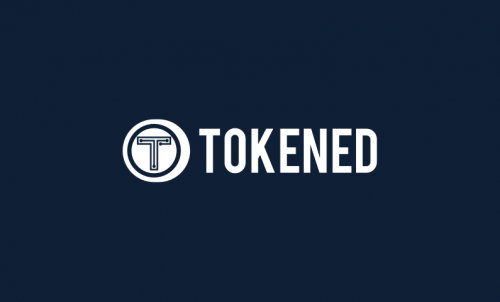 Tokened - Amazing domain for a token-based startup