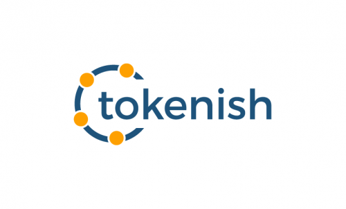 Tokenish - Cryptocurrency startup name for sale
