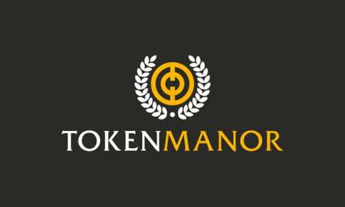 Tokenmanor - Cryptocurrency brand name for sale
