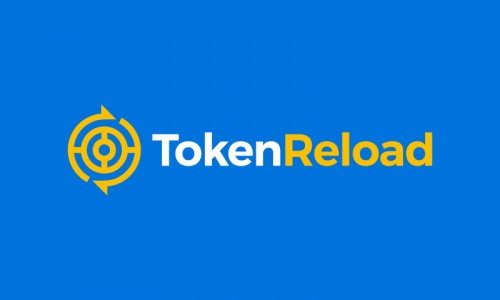 Tokenreload - Cryptocurrency startup name for sale
