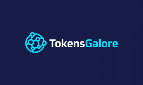 Tokensgalore - Cryptocurrency company name for sale