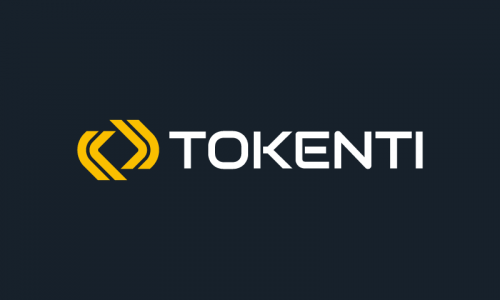 Tokenti - Cryptocurrency company name for sale