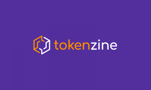 Tokenzine - Cryptocurrency startup name for sale