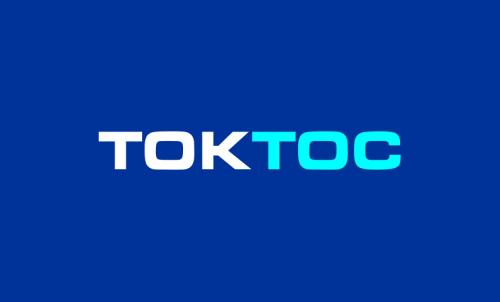 Toktoc - Brandable domain name for sale