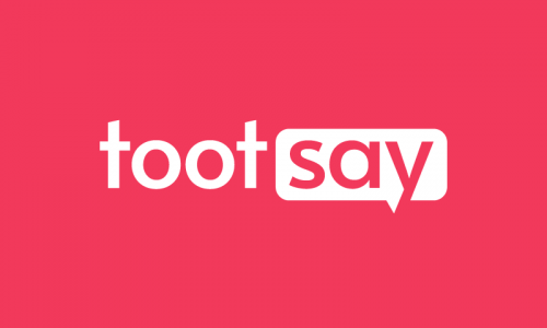 Tootsay - Social company name for sale