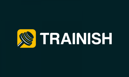 Trainish - Fitness domain name for sale