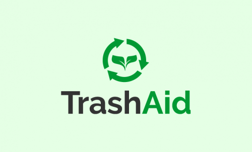 Trashaid - Technology business name for sale
