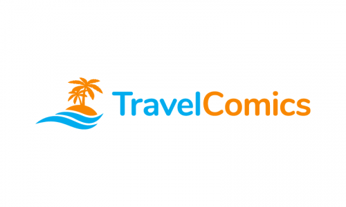 Travelcomics - Comic business name for sale