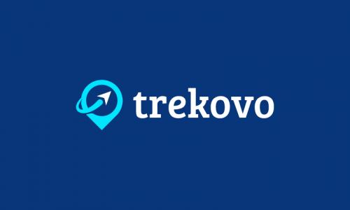 Trekovo - E-commerce startup name for sale