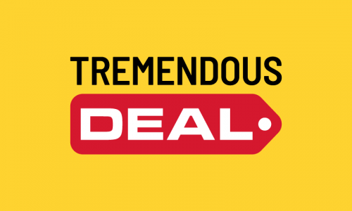 Tremendousdeal - Sales promotion company name for sale