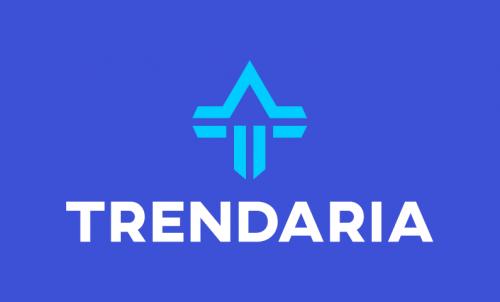 Trendaria - Modern brand name for sale