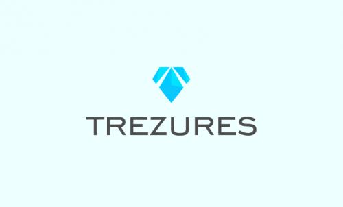 Trezures - Online games domain name for sale
