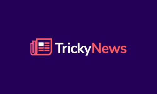 Trickynews - News brand name for sale