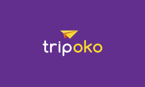 Tripoko - Travel startup name for sale