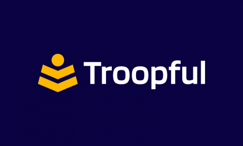 Troopful - Business product name for sale
