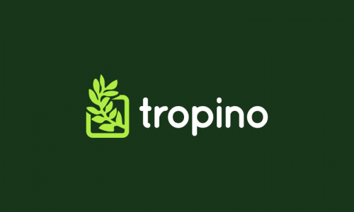 Tropino - Retail startup name for sale
