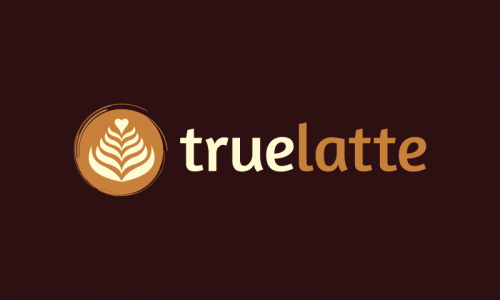 Truelatte - Food and drink business name for sale
