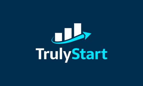 Trulystart - Crowdsourcing company name for sale