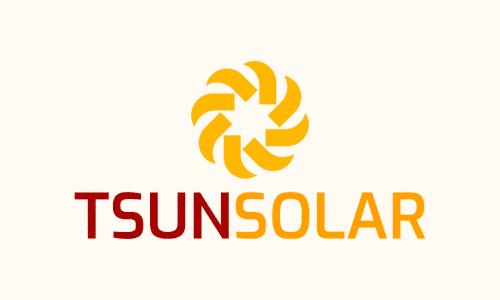 Tsunsolar - Business domain name for sale