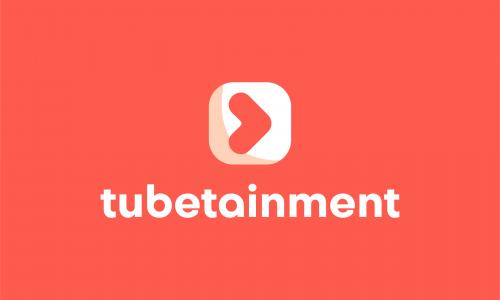 Tubetainment - Modern domain name for sale