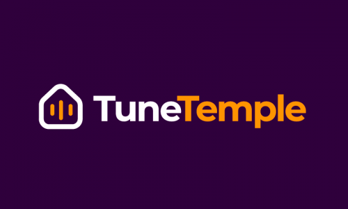 Tunetemple - Audio domain name for sale