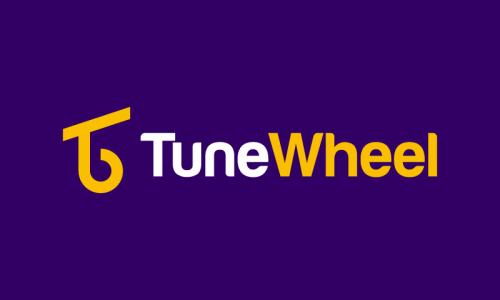 Tunewheel - E-commerce company name for sale