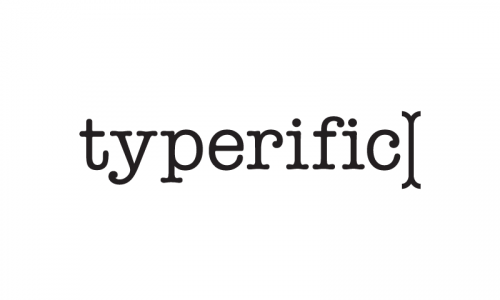 Typerific - Business brand name for sale