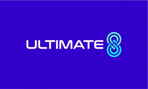 Ultimate8 - E-commerce company name for sale