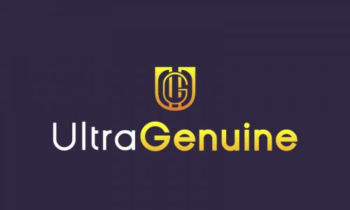 Ultragenuine - Technology brand name for sale