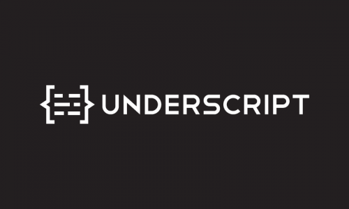 Underscript - Media startup name for sale