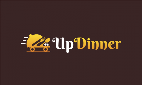 Updinner - Dining company name for sale