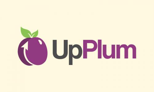 Upplum - Nutrition domain name for sale