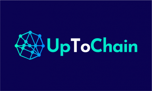 Uptochain - Cryptocurrency startup name for sale