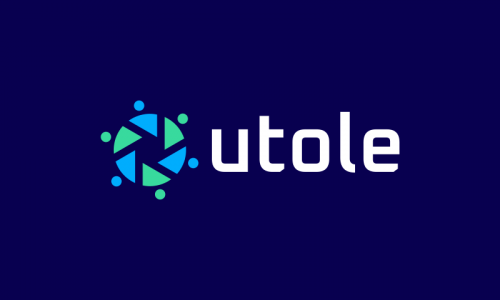 Utole - Writing startup name for sale