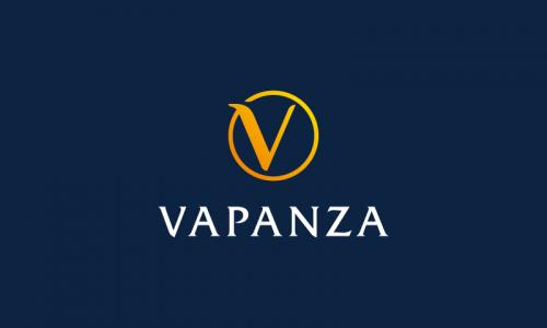 Vapanza - E-commerce domain name for sale