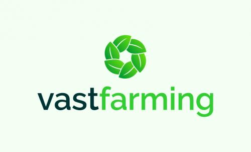 Vastfarming - Agriculture startup name for sale