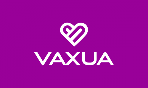 Vaxua - Healthcare startup name for sale