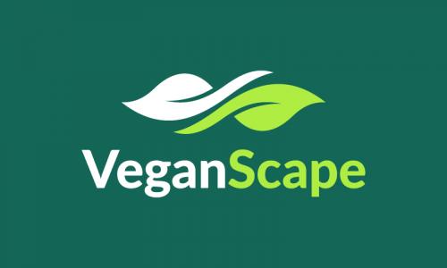 Veganscape - Wellness brand name for sale