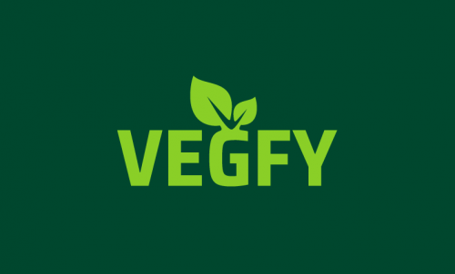 Vegfy - Culinary company name for sale